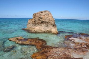 Cupecoy Gay Beach in St. Martin - Caribbean