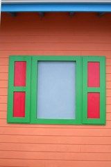 Vintage Window in Saint Martin - Caribbean
