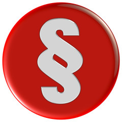 Button rot rund PARAGRAPH