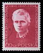 Poland - CIRCA 1964: A stamp - Maria Sklodowska