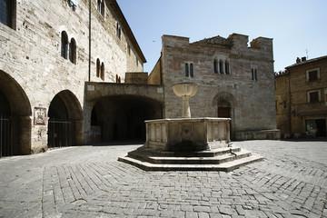 Bevagna,piazza Silvestri,chiesa di San Silvestro