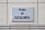 Plaça Catalunya, Barcelona (Spain) poster
