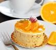 Orangentörtchen