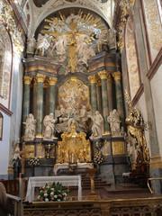 altar in the Basilica of Jasna Gora