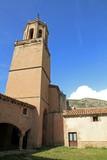 Parish church Miravete de la Sierra vilage Teruel  Spain poster