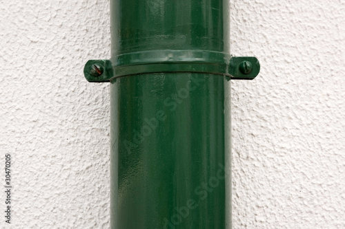 Green Rain Water Tube