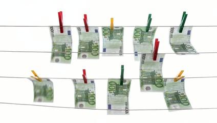 Geldwäscherei beenden
