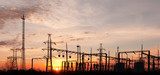 Electric Substation poster