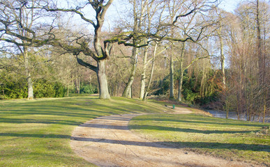 Weg des Frühlings Ohlsdorf