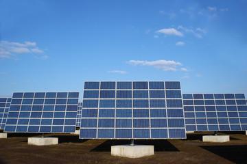 erneuerbare Energie Solarpark © Matthias Buehner