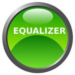 Equalizer glossy icon