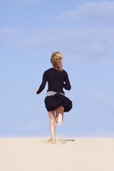 Active girl