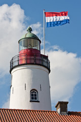 Lighthouse in the Netherlands