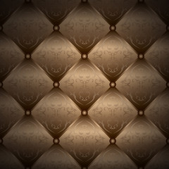 Seamless gold background - chester pattern - packaging