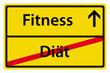 Fitness anstatt Diät