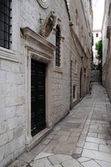Rue Strossmayer à Dubrovnik