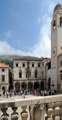 Place de la Loge à Dubrovnik