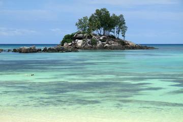 îlot des Seychelles