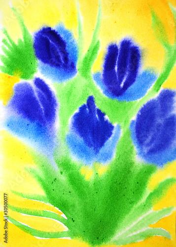 Obraz Beautiful spring flowers