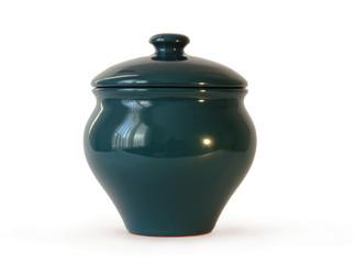 Ceramic Pot with a Lid