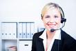 angestellte im callcenter