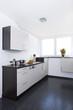 Weiße Küchenzeile