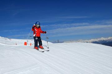 Sport d'hiver : Petit skieur sur les pistes (5 ans) #2