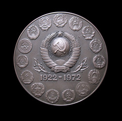 medal, 50 years USSR.