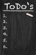 Todo Chalkboard
