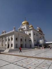 Gurdwara Bangla Sahib: Templo sij en Nueva Delhi