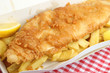 Fish & Chips Takeaway Box