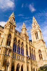 Vienna town hall Rathaus Austria