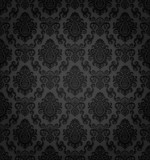 Fototapety Seamless Damask Wallpaper