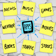 Apps Download into Smart Mobile Phone - Sticky Notes