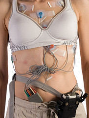 Heart Monitor attached to Patient