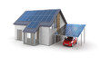 Solar Energy House (isolated)