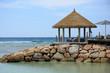 kiosque de relaxation aux Seychelles