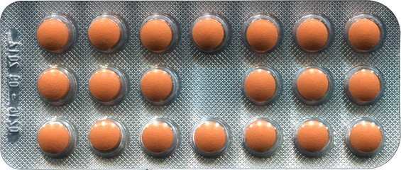 pack of tablets
