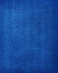 Blue Hexagon Background Pattern