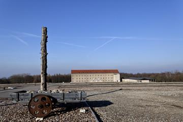 Das Gelände vom KZ Buchenwald