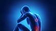 Hurt spine problem