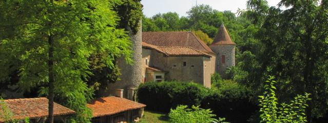 Village et Château de Rancogne ; Charente, Limousin, Périgord
