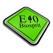 warnschild (s) e10 biosprit I
