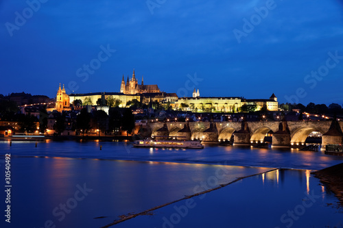 Prag, Karlsbrücke und Prager Burg