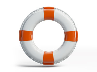 White Ring Buoy