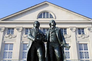 Goethe & Schiller in Weimar