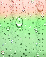 background of beautiful water drops .