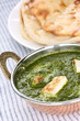 palak paneer , spinach and cheese curry , indian food