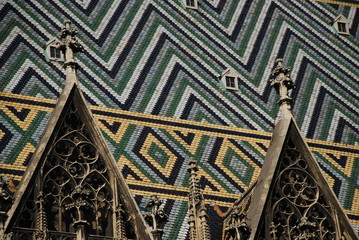 St. Stephen's Cathedral, detail, Vienna