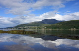 Fototapety Fort William,Ben Nevis and Loch Linnhe.